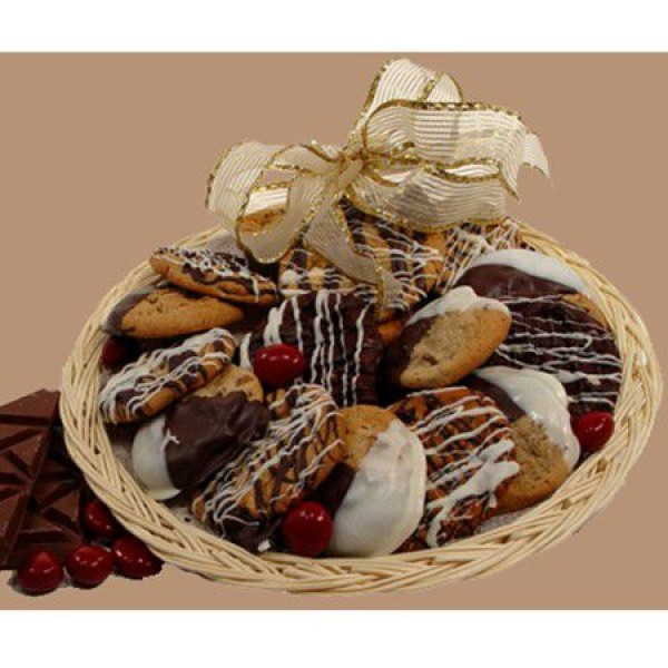 Chocolate Dipped Cookie Tray 6918