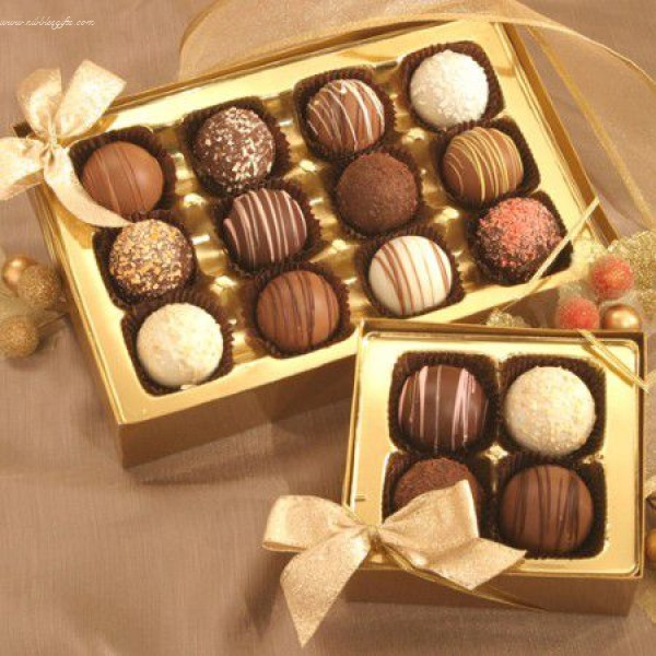Maggies Chocolate Truffles 12pc. 5333
