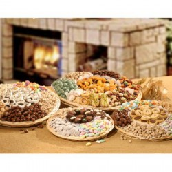 The Ultimate Chocolate & Nut Small Wicker Tray 5300