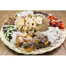 Fancy Cookies Chocolate Nut Gift Tray 6703