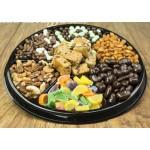 Nut & Chocolate Black Tie Tray 6709