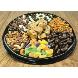 Nut & Chocolate Black Tie Tray 6709