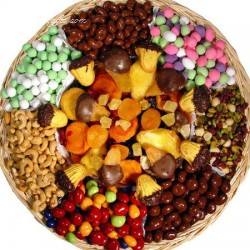 Shiva Nut & Chocolate  Tray 6716
