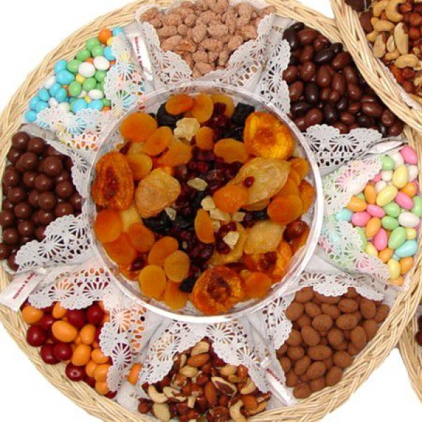 Executive Chocolate Dry Fruit Nut Chocolate Gift Tray 6725