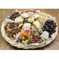 Fancy Cookies & Nut Tray 6713