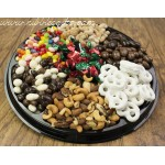 Nut & Chocolate Black Tie Gift Tray (Md.) 6710