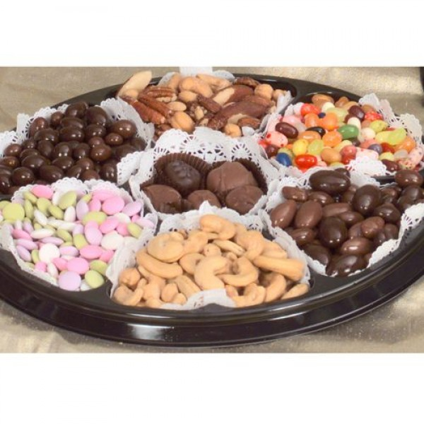 Nut Chocolate Black Tie Gift Tray. (Sm.) 6720