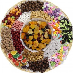 The Ultimate Nut & Chocolate Gift Tray 6708