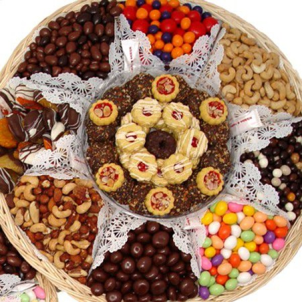 Crowd Pleaser Chocolate Nut Gift Tray 6704