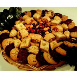 Gourmet Baked Goods & Chocolate Fruit Medley Gfit Trays 6607