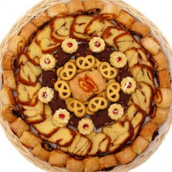 Cookie, Coffee Cake & Rugelach Bakery Tray 6608