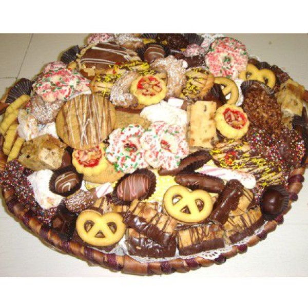 European Cookie, Biscotti and Chocolate Tray 6602