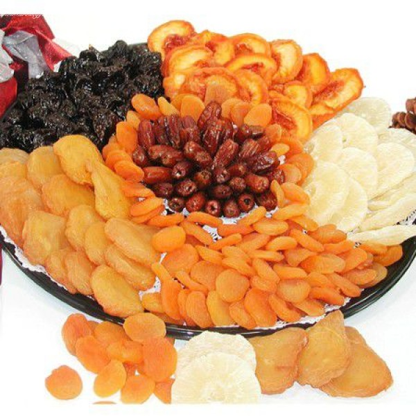 California Dry Fruit Tray and Platter 6624