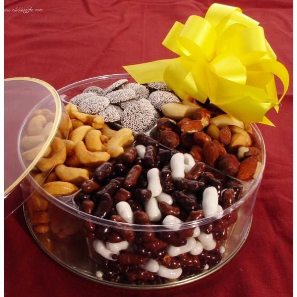 Chocolate & Nut Round Gift 5292