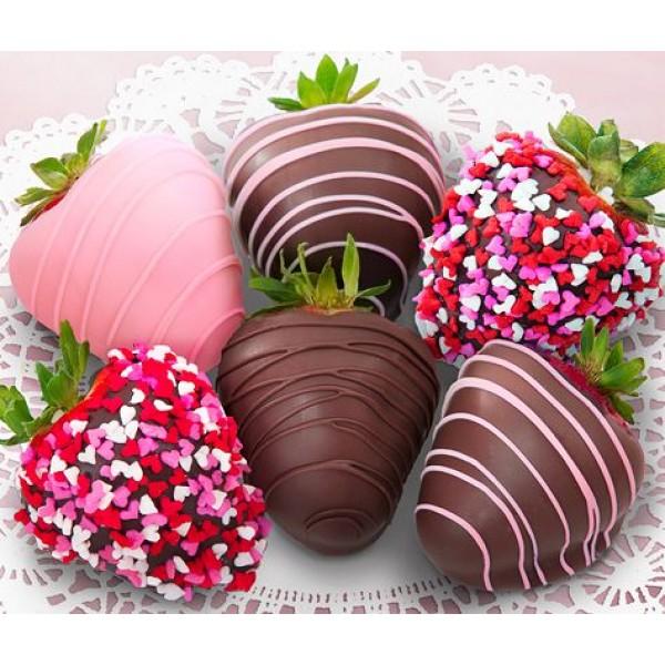 VALENTINES CHOCOLATE COVERED STRAWBERRIES