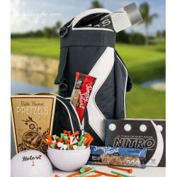 Golf Bag Cooler Gift Basket 6230
