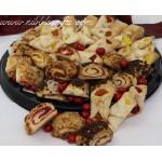 European Holiday Bakery Tray 7412