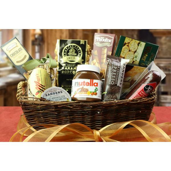 Nutella Chocolate Holiday Gift Basket 6209